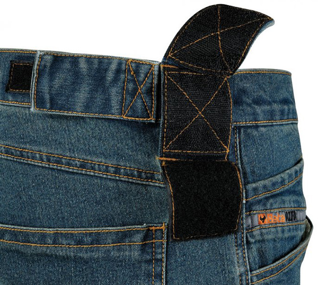 Spodnie robocze, jeans BETA 7525